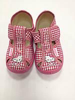 Текстильные туфли - тапочки для девочки Китти Маша Валди