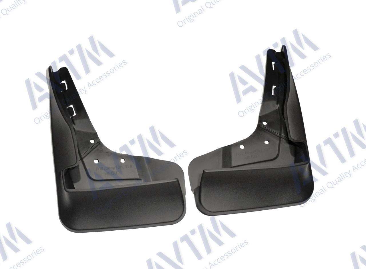 Брызговики задние для Mercedes-Benz ML166 (с порогами) 2011- (A1668900478) 2шт MF.MRDML2013FR