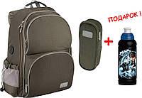 """Комплект Smart (хаки). Рюкзак школьный K16-702M-4 + пенал, ТМ """"Kite"""""""