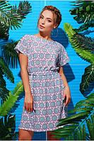 Красивое платье Виктория бирюзовый