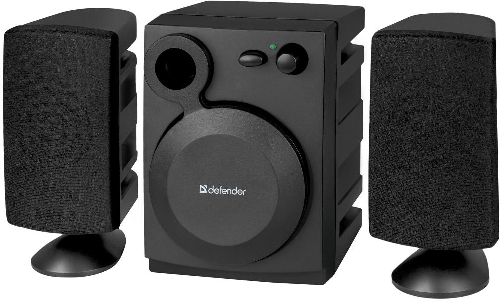 Колонки для компьютера 2.1 Defender Z3 USB, Black, акустика, акустическая система