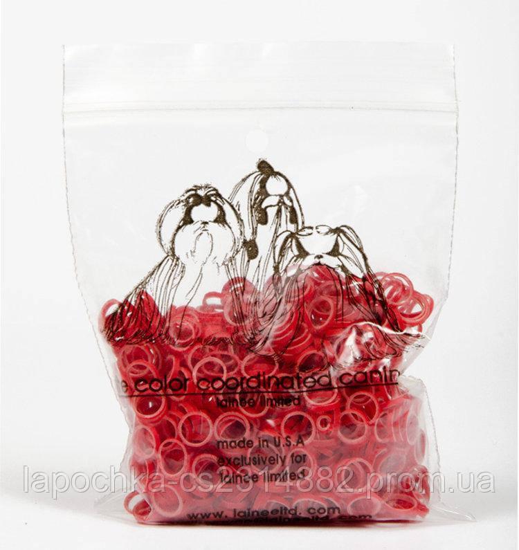 Резинки латексные Color Coordinated, красные