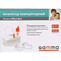 Інгалятор (небулайзер) GAMMA Effect Max