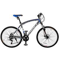 Спортивный велосипед 26 дюймов Profi EXPERT 26.5L (темно-коричнево-зеленый)