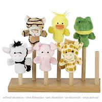 Лялька goki для пальчикового театру Свинка 15418G-5