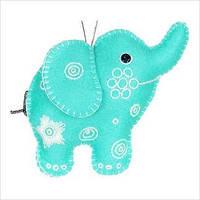 """Набір для творчості з фетру """"Декоративна іграшка """"Слоненя"""""""