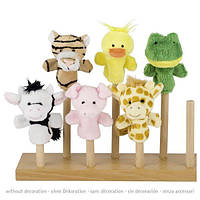Лялька goki для пальчикового театру Тигр 15418G-1