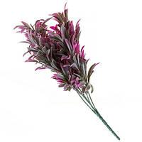 Флористическая зелень с фиолетовыми листьями 31см