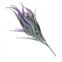 Зелень для флористов фиолетовая 37см