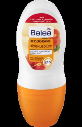 Дезодорант шариковый Balea Deo Roll On Deodorant Hibiskusblüte 50мл