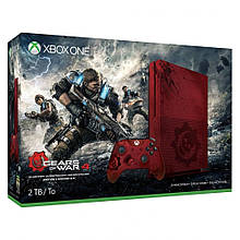 Игровая приставка Microsoft Xbox One S 2TB Limited Edition + Gears of War 4