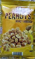 Арахис жареный с медом 0,300 гр (перец и соль, мед)