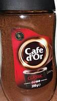 """Кофе растворимый Cafe d""""Or Classic, 200 гр купаж с легкой кислинкой"""