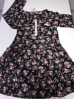 Детское платье в цветочек