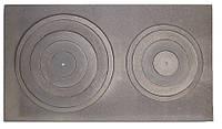 Чугунная плита варочная (80 х 45 см)