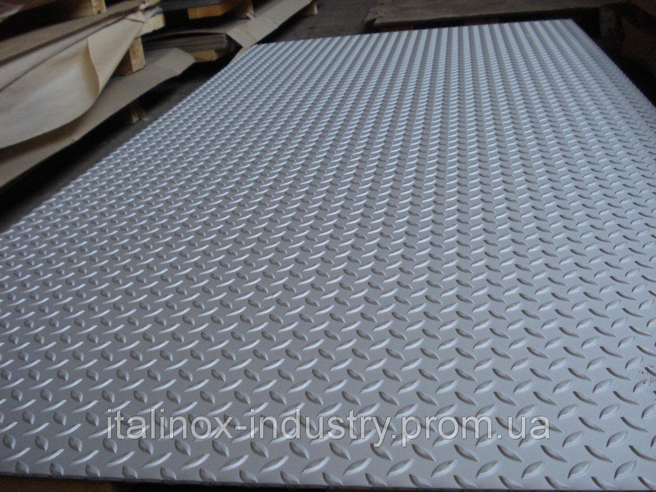 Алюминиевый лист рифленый 08Х1000Х2000