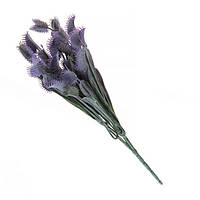 Ветка флористическая фиолетовая 33см