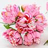 Букетик Хризантема Элит d=3.5-4см  (цена за букет из 6 шт). Цвет - розовый.