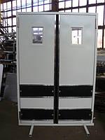 Двери маятниковые и решетчатые