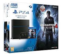 Игровая приставка Sony PlayStation 4 Pro (PS4 Pro) + Uncharted 4