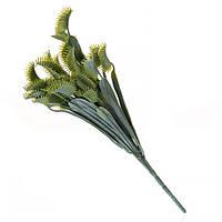 Ветка флористическая зеленая 33см