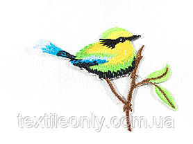 Нашивка Птица на ветке , фото 2