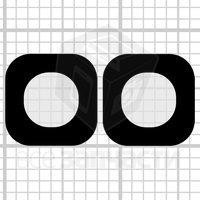 Стекло камеры для мобильного телефона Fly IQ4414 Quad, original