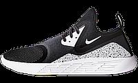 Мужские кроссовки Nike LunarCharge Le Black/Space-Grey 44