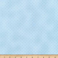 """Ткань для пэчворка и рукоделия американский хлопок """"Сады Парижа точки"""", небесный - 22*55 см"""