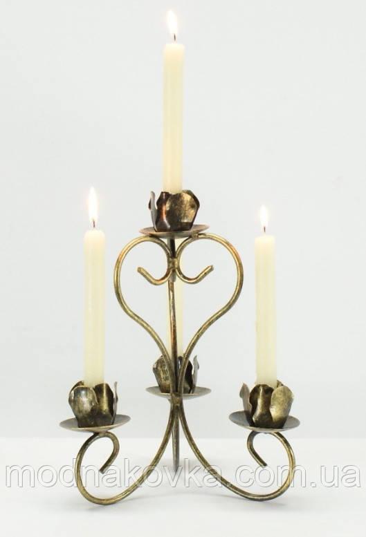 Кованый подсвечник на 4 свечи