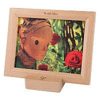 Пазл с деревянной рамкой Hape Маленький принц Розы (824778)