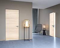 Межкомнатная дверь ELDOOR standart Модель Laminat(структурный ламинат) Ясень структурный 0103 в проем 2100х800