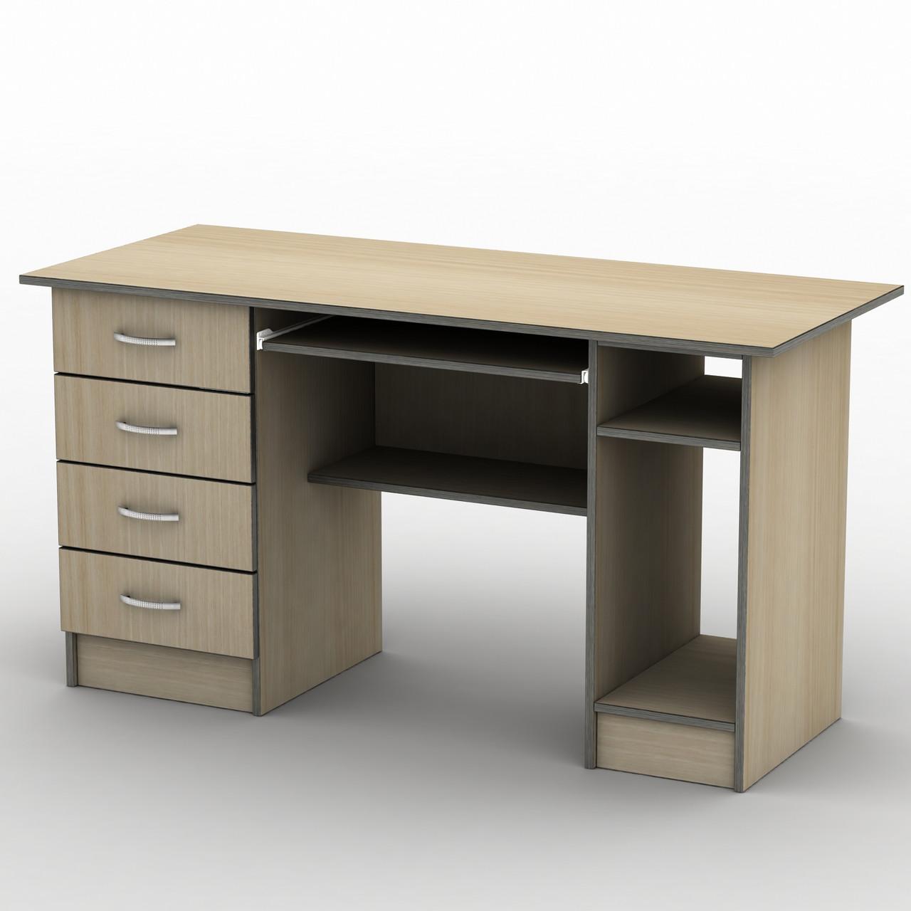 Комп'ютерний стіл Бюджет СК-4 (1300*600) Тіса меблі