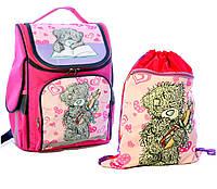 """Ранец школьный и сумка для сменки """"Мишка Тедди"""" Vombato"""