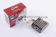 Реле зарядки Zongshen , Lifan 125/150 (3+3 провода) JIANXING