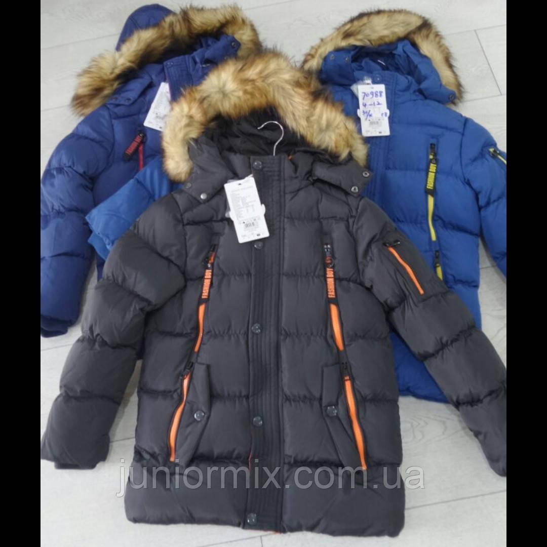 Зимняя детская куртка для мальчиков GRACE