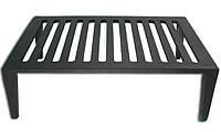 Чугунная решетка с ножками (31 х 24,5 х 9,5 см)