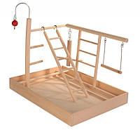 Игровая площадка Trixie Wooden Playground для птиц деревянная, 34х26х25 см