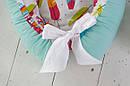 Позиционер (гнездышко) для малыша Babynest Перышки, фото 4