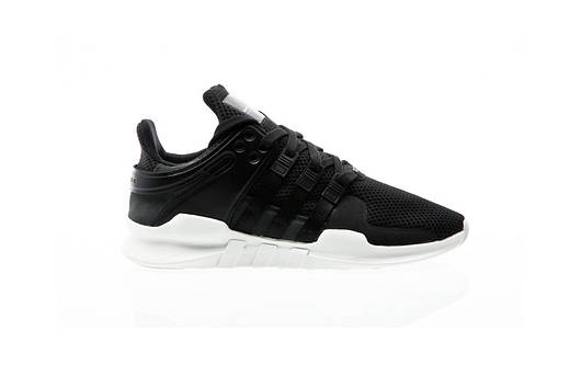 Мужские кроссовки  adidas Equipment Support ADV (Core Black / Core Black / Power Blue)