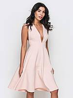 Жіноче рожеве вечірнє плаття Mirena S