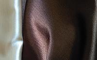 Ткань для штор и портьер Шанзализе шоколадная