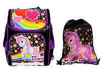 """Ранец школьный,и сумка для сменки """"Star Пони"""" Vombato, фото 1"""