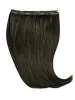 Волосы на заколках 60 см. Цвет #01 Черный