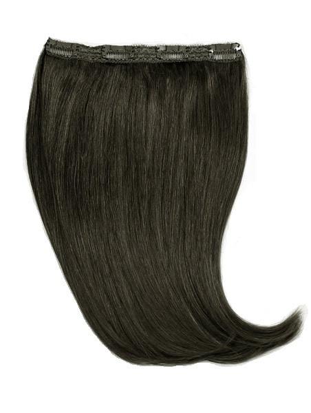 Волосы на заколках 50 см. Цвет #01 Черный, фото 1