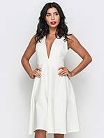 Жіноче біле вечірнє плаття Mirena S
