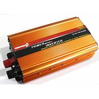 Преобразователь напряжения инвертор 1000W. Мощный прибор. Хорошее качество. Доступная цена. Дешево Код: КГ1618