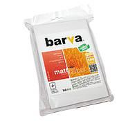 Фотобумага Barva, матовая, A6 (10x15), 220 г/м2, 100 л (IP-AE220-224)
