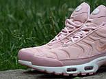 Кроссовки Nike Air Max Tn+ 1 Satin Pack Pink. Топ качество! Живое фото (Реплика ААА+), фото 7