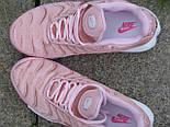 Кроссовки Nike Air Max Tn+ 1 Satin Pack Pink. Топ качество! Живое фото (Реплика ААА+), фото 6